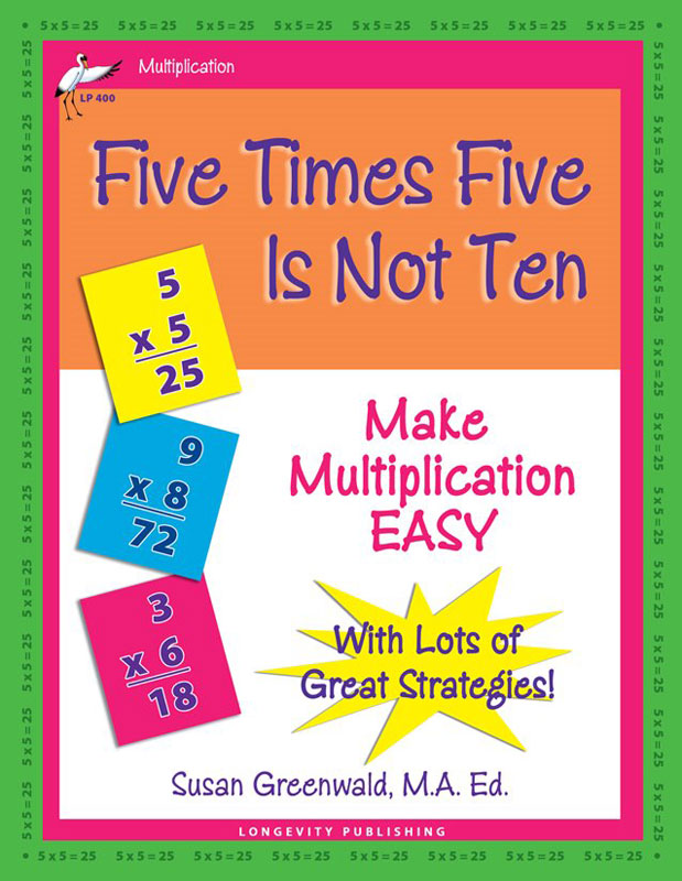 Math Facts Workbooks - Longevity Publishing